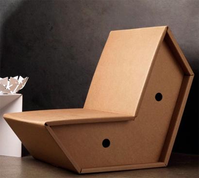 Apuntes revista digital de arquitectura muebles de cart n una alternativa de reciclaje - Muebles de carton ...