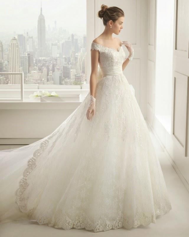 Kolorowe Inspiracje ślubne Suknie Rosa Clara Wiosna 2015