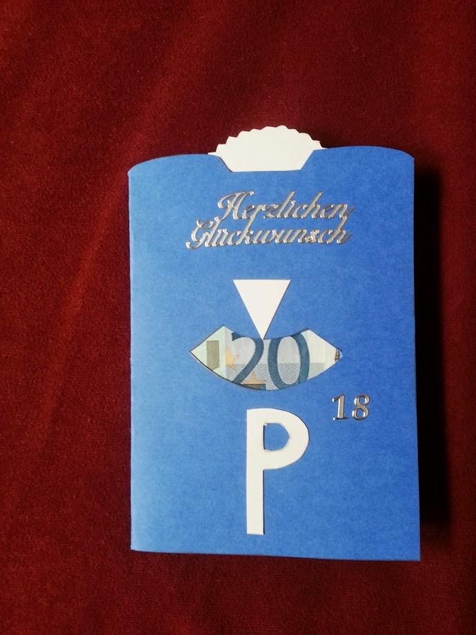 Kreatinis Geldgeschenk 18 Geburtstag Und Karten