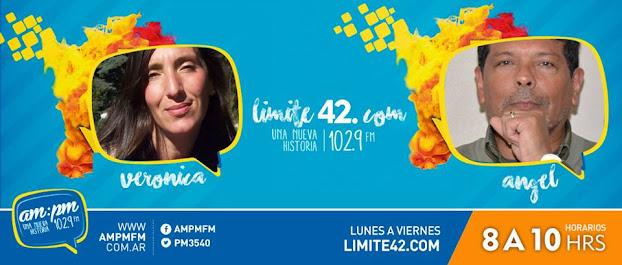 Escuchá #Limite42 de 8 a10 por AMPM 102.9 FM