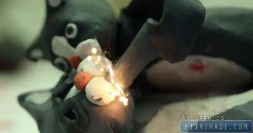 video stopmotion kucing tikus