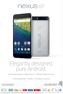 Google Nexus 6P offer discount 2015