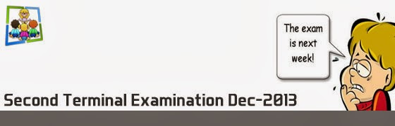 Second Term Christmas Exam Higher Secondary
