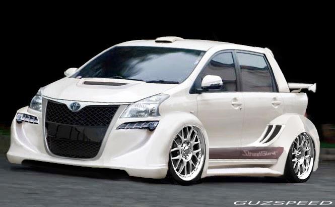 Elegant Modifikasi Toyota Avanza Veloz Terbaru Sporty