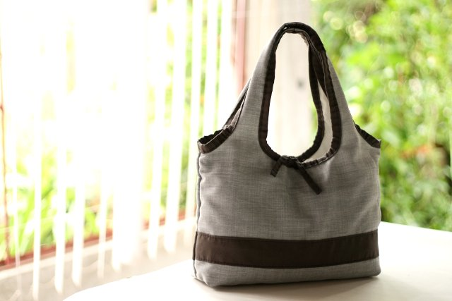 Gray Ecobag