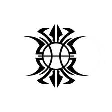 Zodiac Tattoo Designs With Image Zodiac Symbol Picture Tribal Pisces Tattoo 6