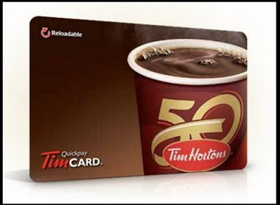 Tim Hortons $20 Gift Card Giveaway (January 29-February 1)