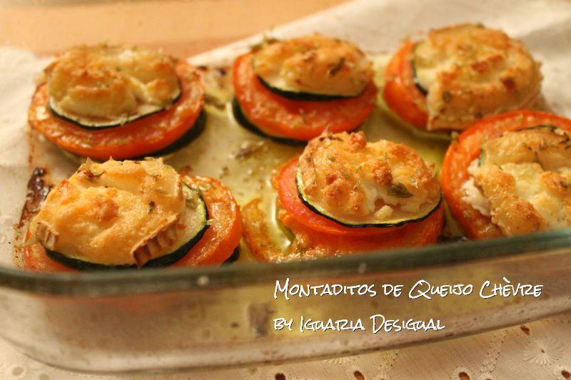 Montaditos+de+Queijo+Chèvre+Tomate+e+Courgette