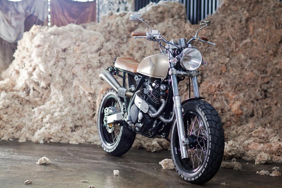 Milchapitas Kustom Bikes Honda Xr600 By 66 Motorcycles