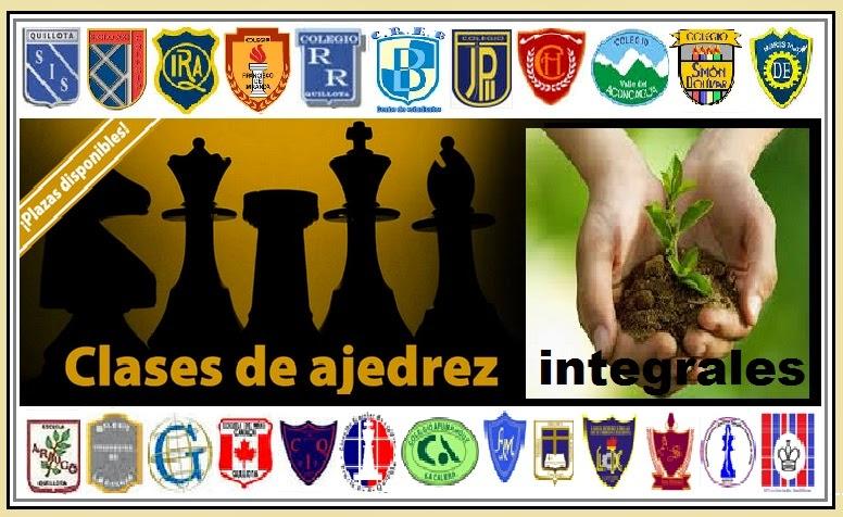 CLASES de AJEDREZ INTEGRALES