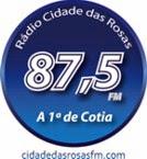 Rádio Cidade das Rosas 87,5 FM
