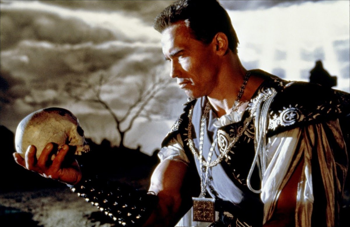 Arnold Schwarzenegger as Hamlet
