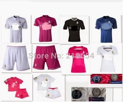 Las camisetas de la nueva temporada 2015 2015 - Imagenes De Camisetas De Equipos De Futbol