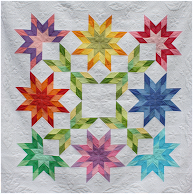 Free pattern! starburst