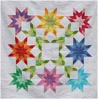 Free pattern! starburst