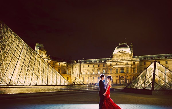 Chụp ảnh cưới tại Châu Âu - Paris (Pháp) hoa lệ