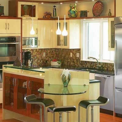 Cocinas decoracion y dise o de cocinas imagenes de for Disenos de cocinas americanas pequenas