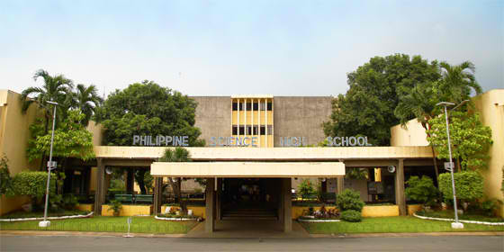 philippine science high school facade