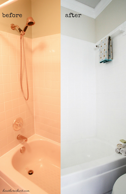 Wanna update your tub and/or shower for $50?  YES!  You gotta try this!!