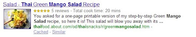 recipes rich snippets