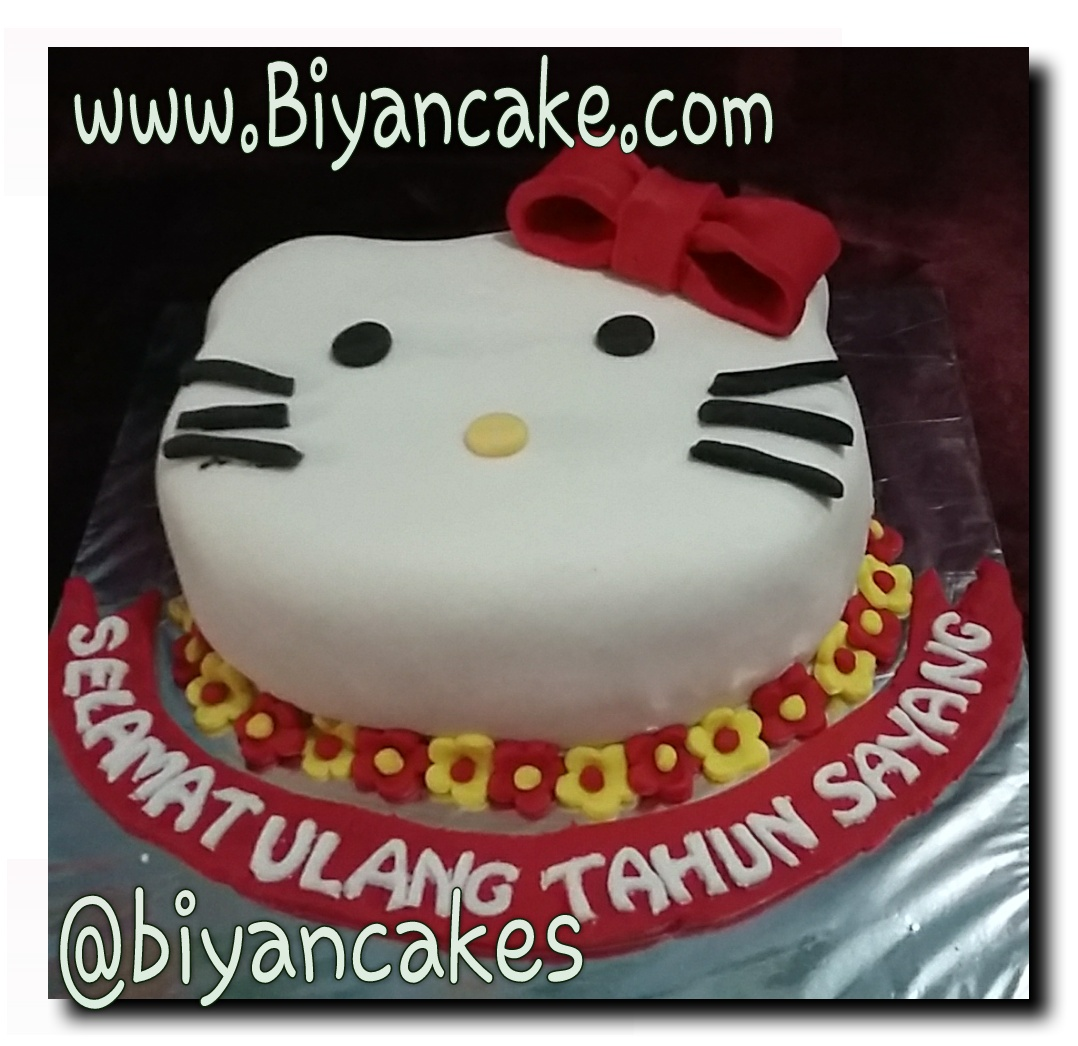 Kue tart Hello Kitty ~ Agung