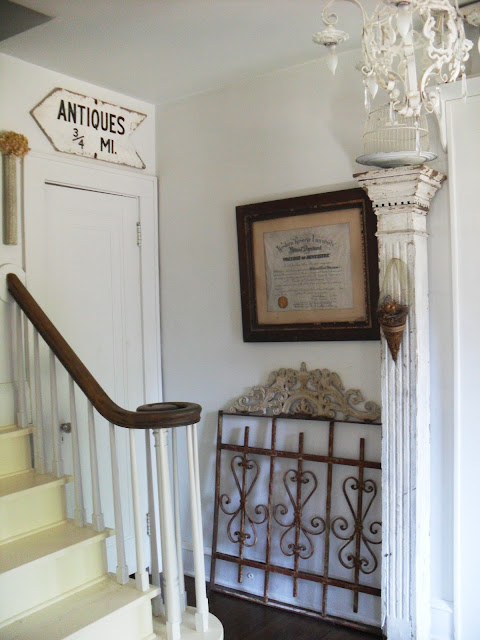Must love junk Collectors Colonial style Home tour!