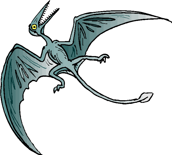 Scary Pteranodon Free Animal Clipart