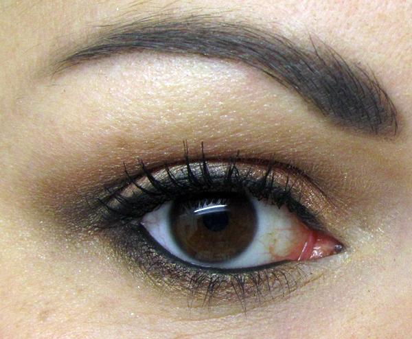 Makeup u0026 things by olgiepolgie: Eyeshadow: neutral smoky eye