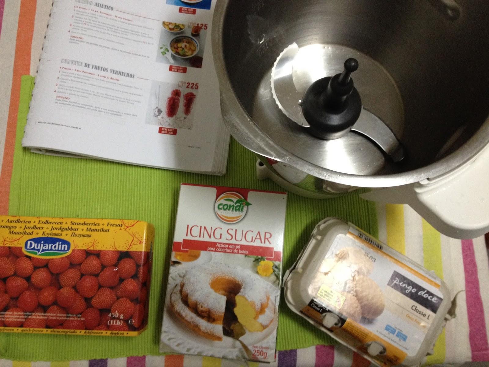 Ligada ficha sorvete de morango na cuisine companion for Cuisine companion