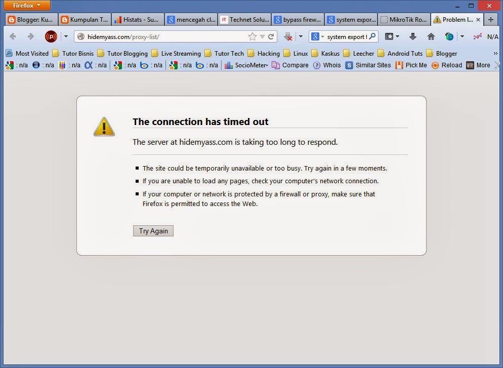 Cara Memblokir Penggunaan Web Proxy External di Mikrotik – Pusat Pengetahuan