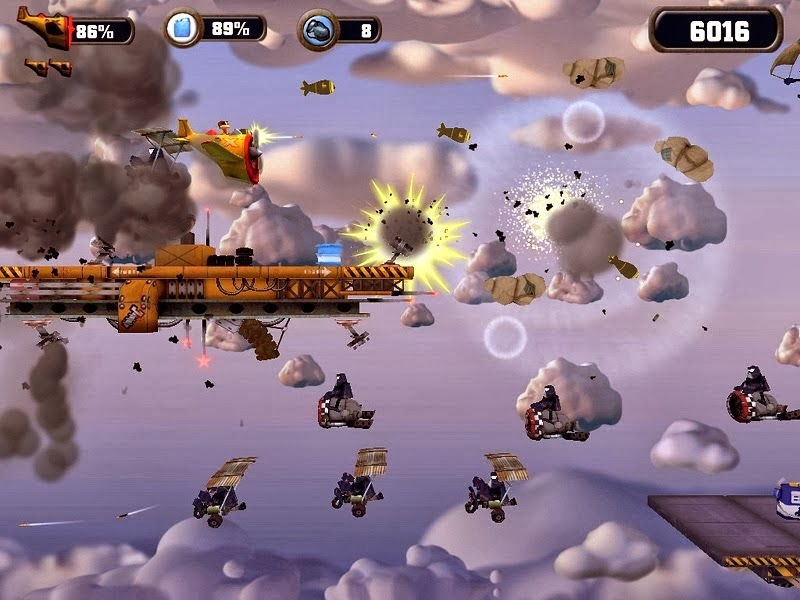 Crazy Chicken Sky Botz Game Free Download Full Version For PC
