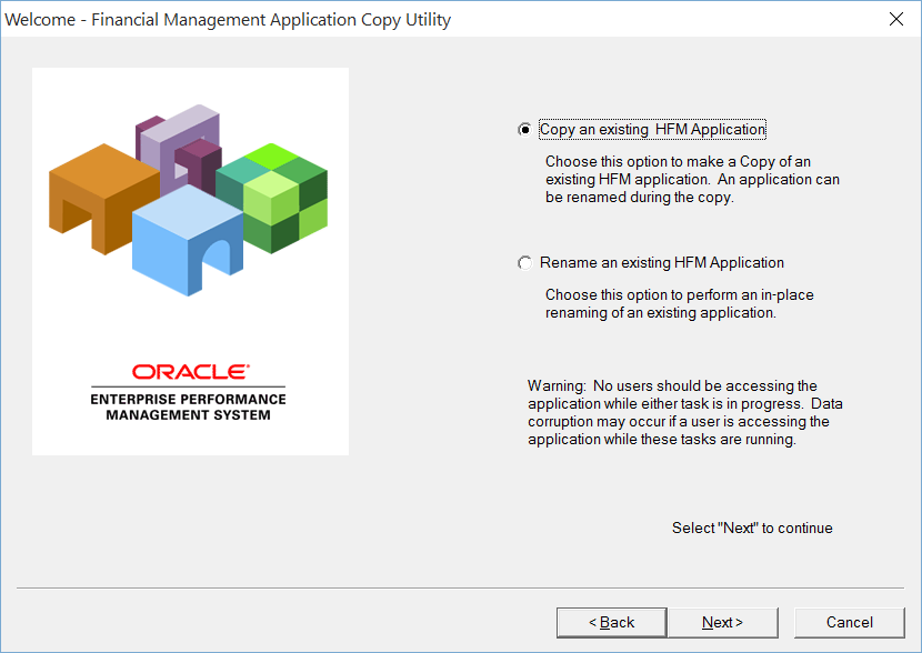The Finnish Hyperion Guy: Copy Application Utility For HFM 11.1 ...