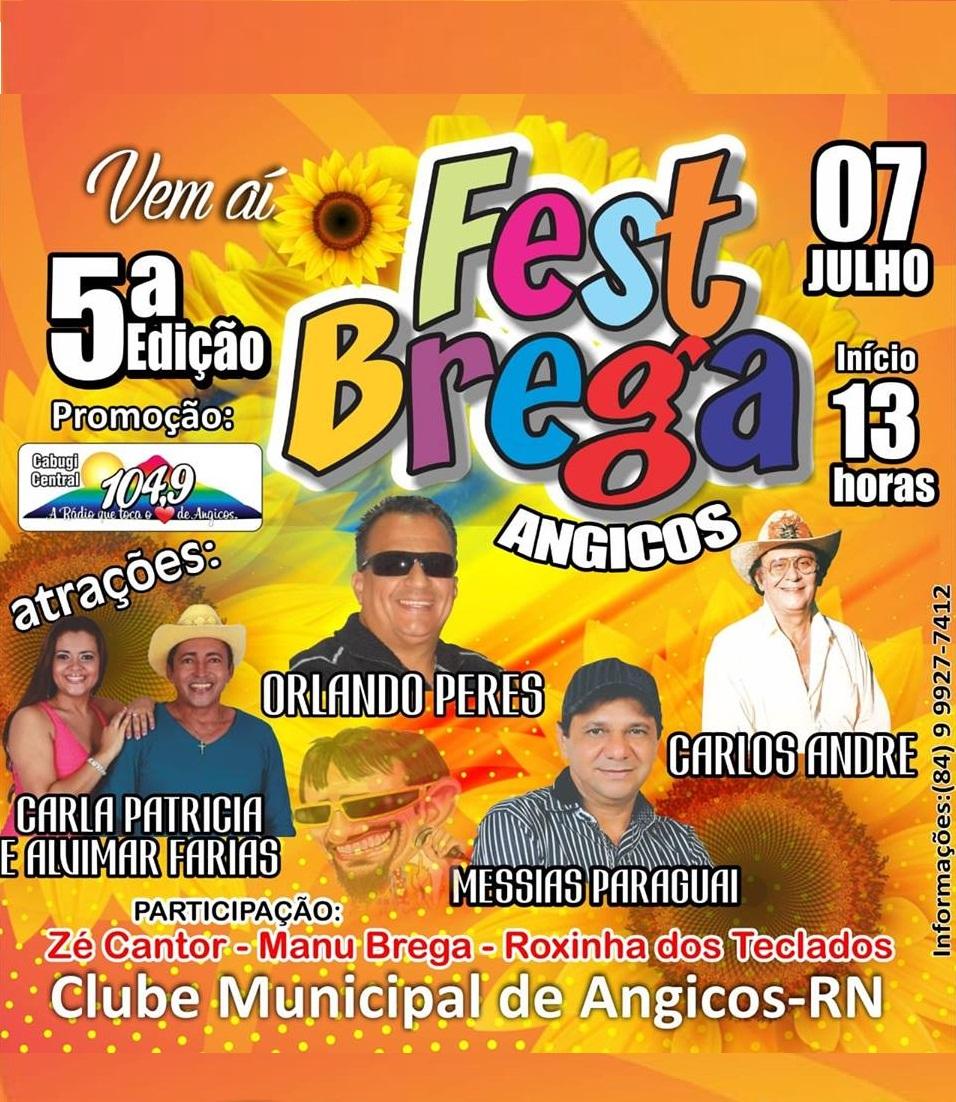 QUINTO FEST BREGA DE ANGICOS RN