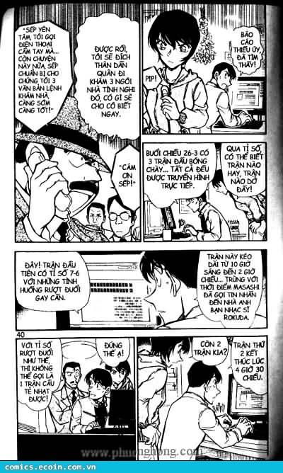 Detective Conan - Thám Tử Lừng Danh Conan chap 513 page 4 - IZTruyenTranh.com
