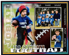 My football player!