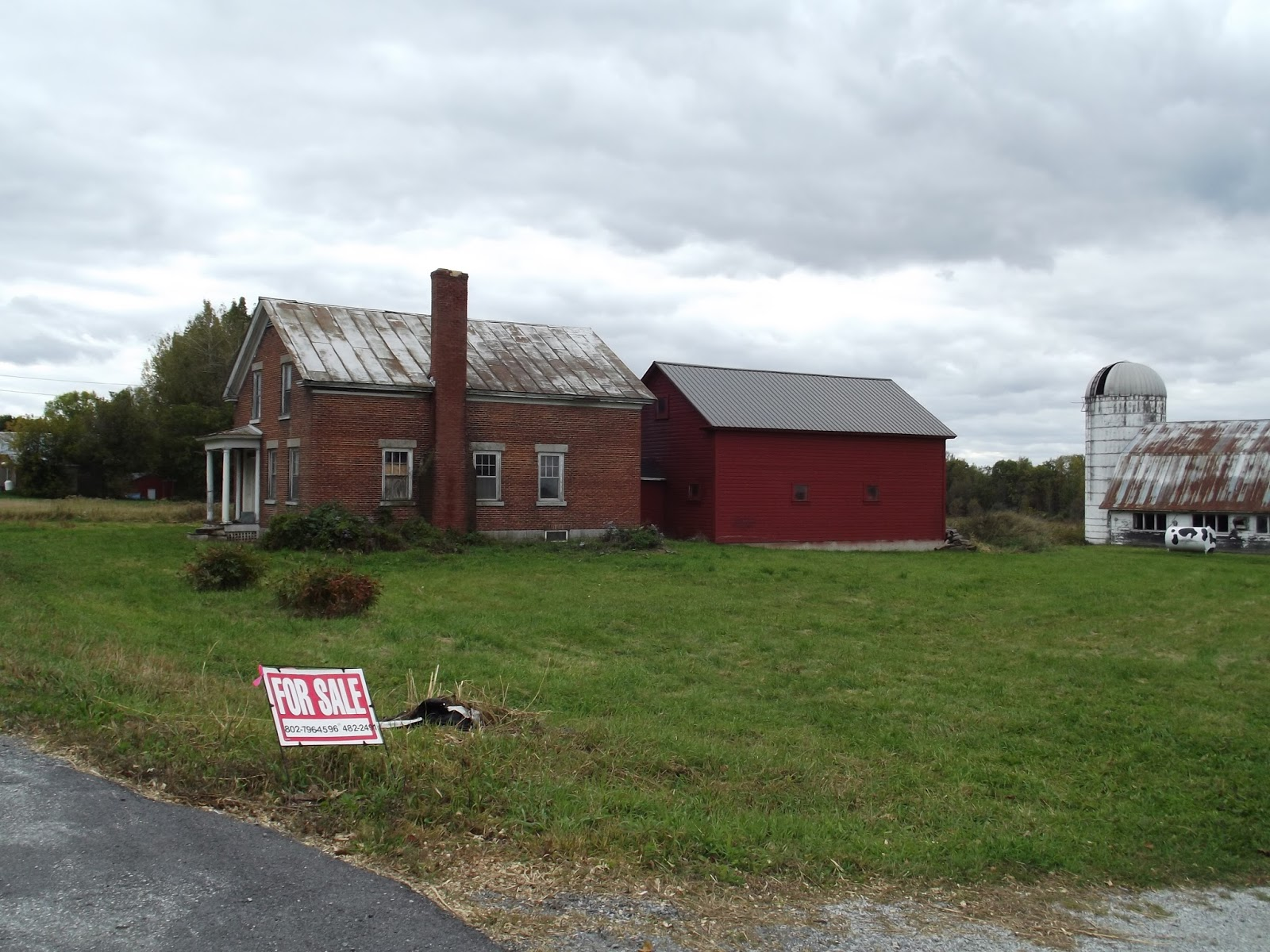 The old granite step abandoned in vermont house for sale for Cost of building a house in vermont