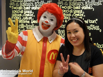 Ronald McDonald and Animetric
