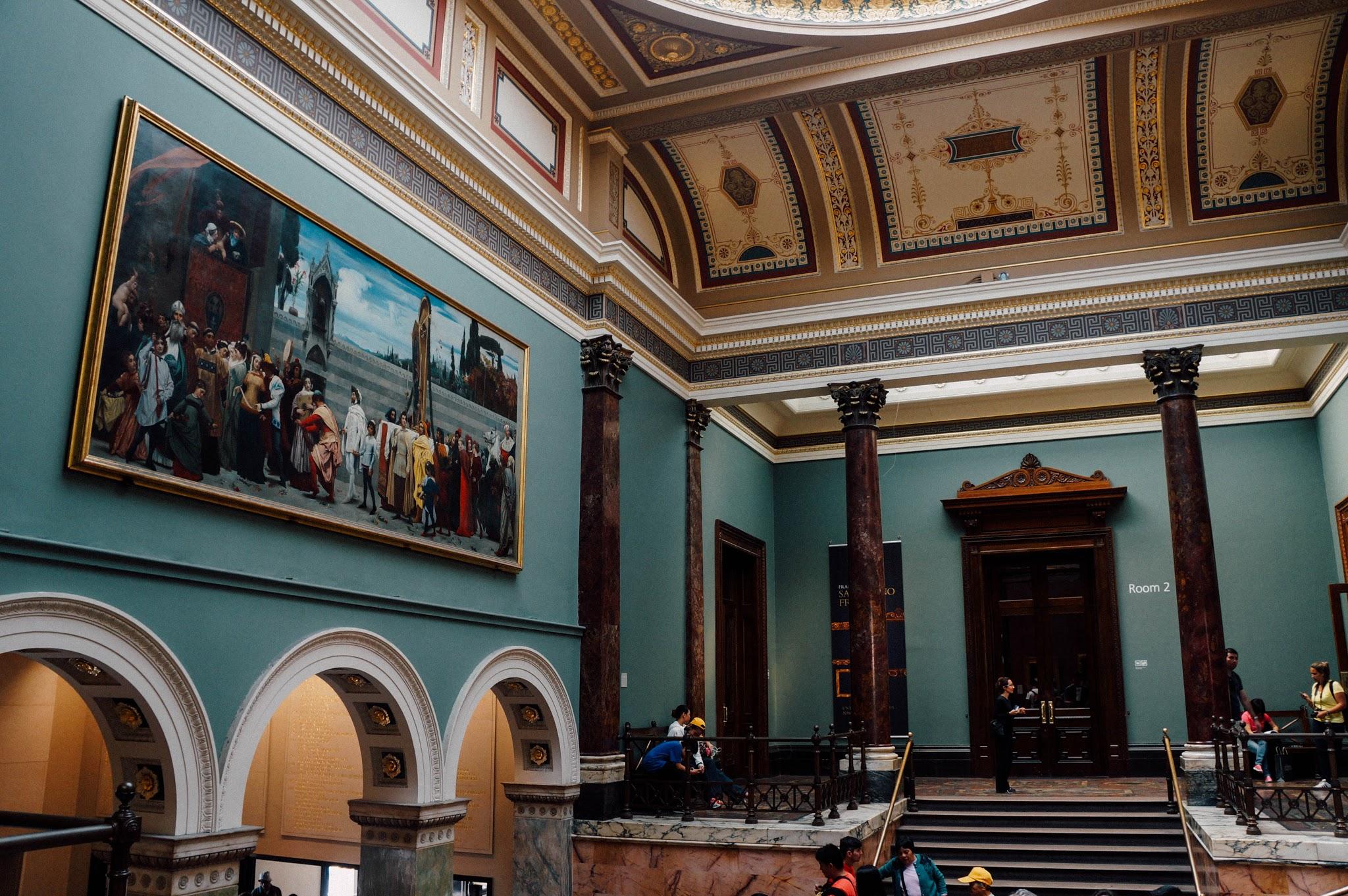 National Gallery London Trafalgar Square
