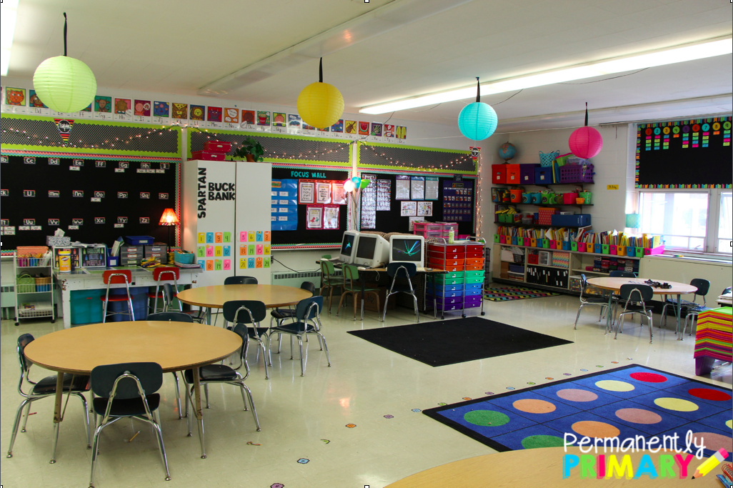 Classroom Ideas For Primary School : Permanently primary classroom setup plus some little