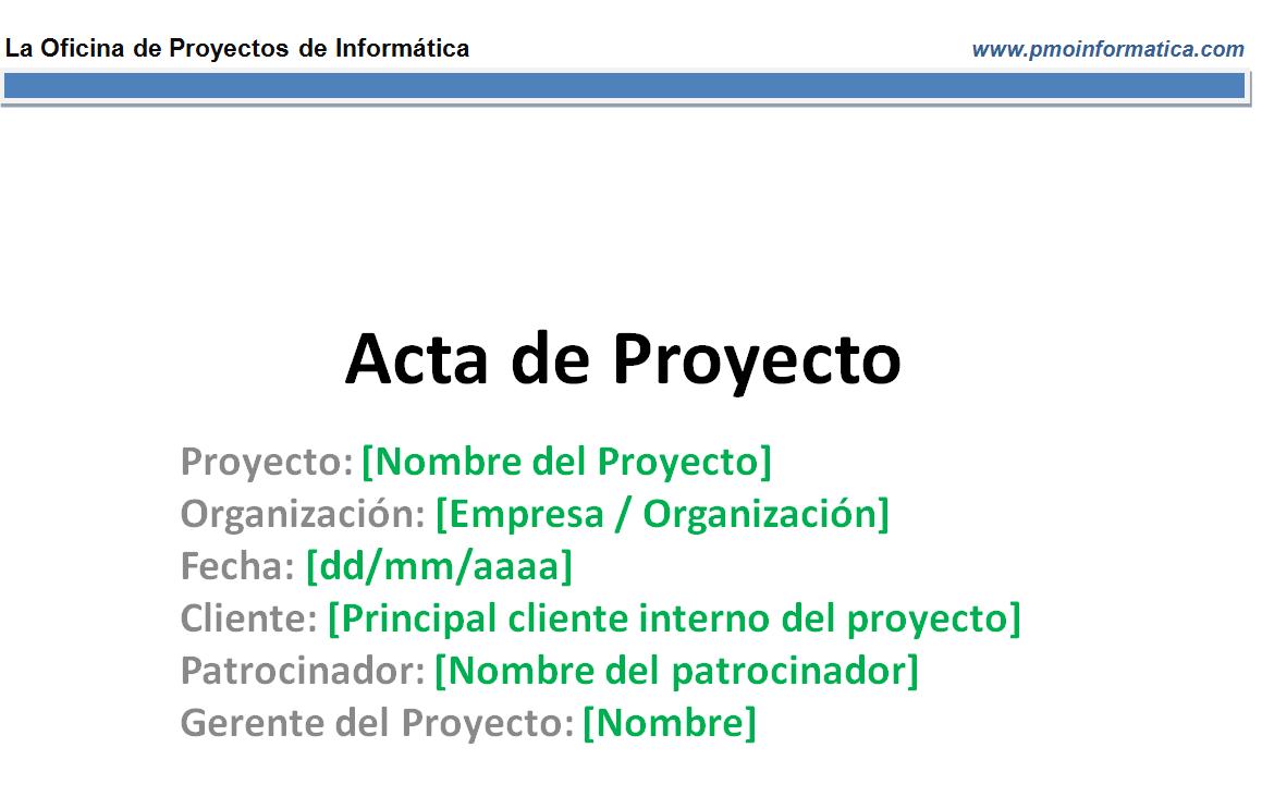 Plantillas - La Oficina de Proyectos de Informática