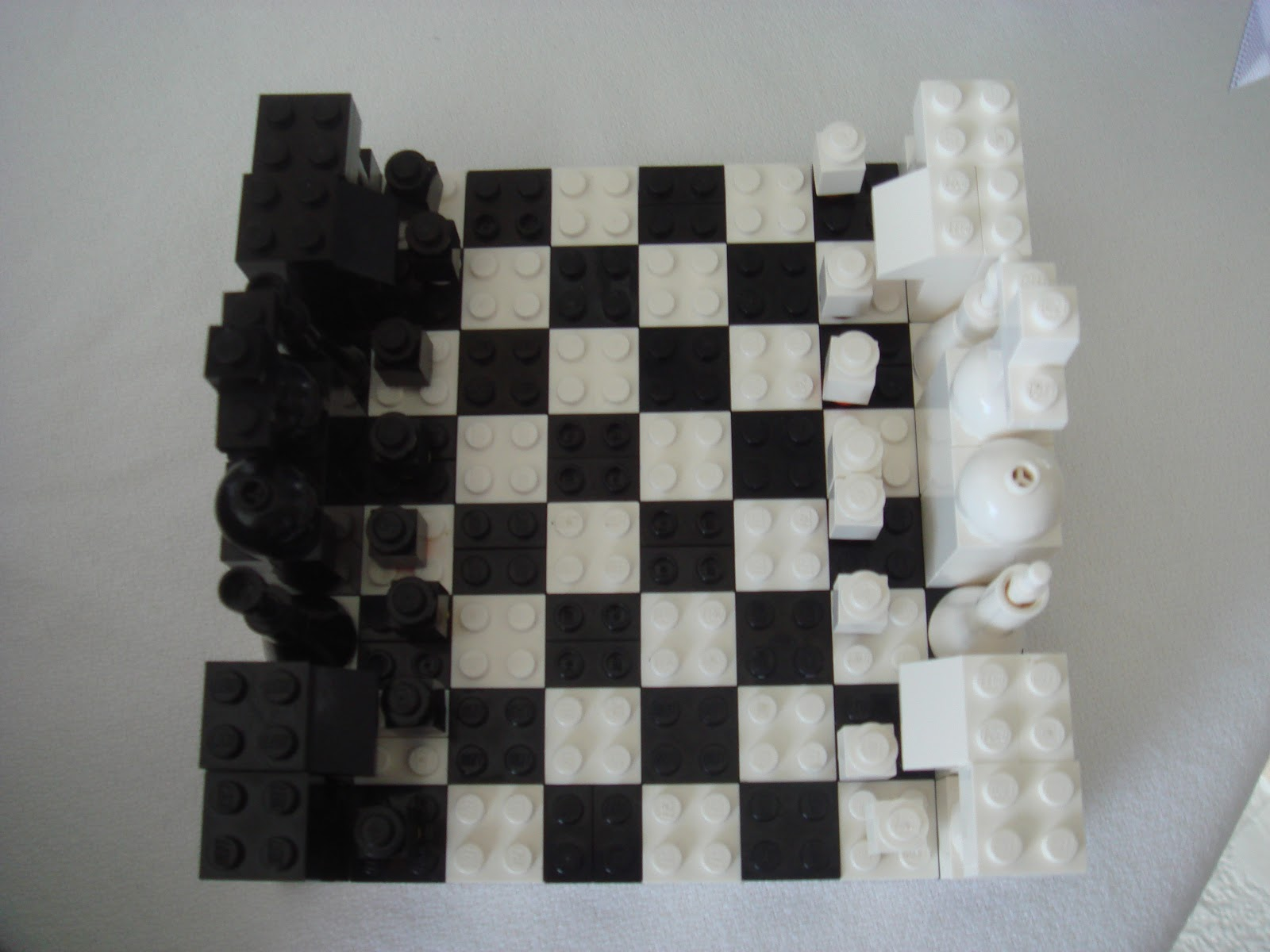 DIY LEGO Chess Set Tutorial
