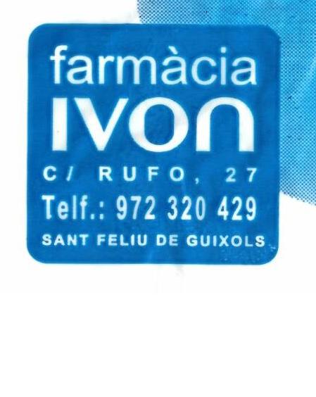 FARMÀCIA IVON