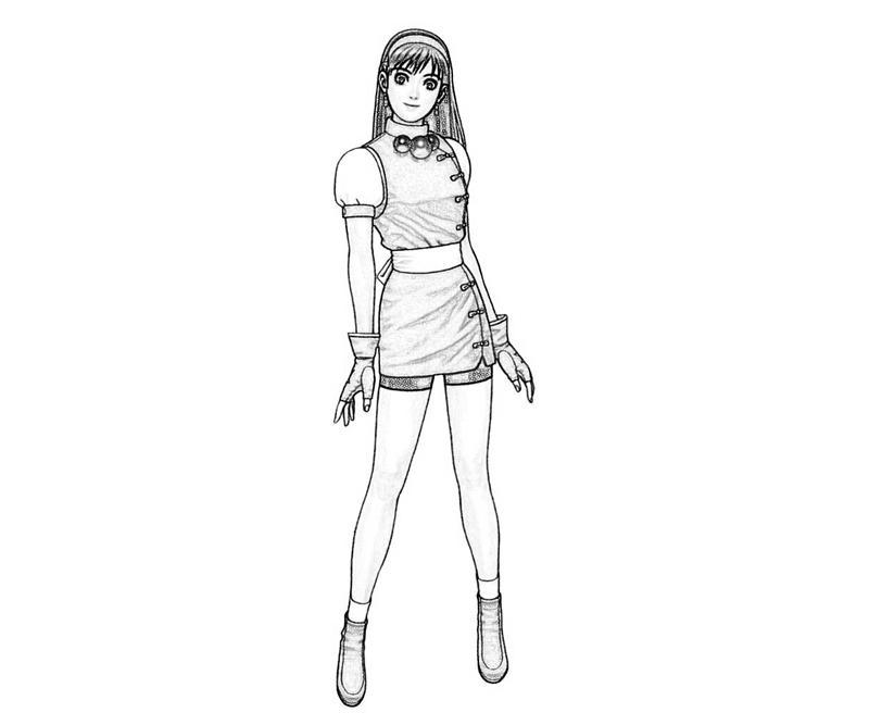 King Of Fighters Athena Asamiya Character