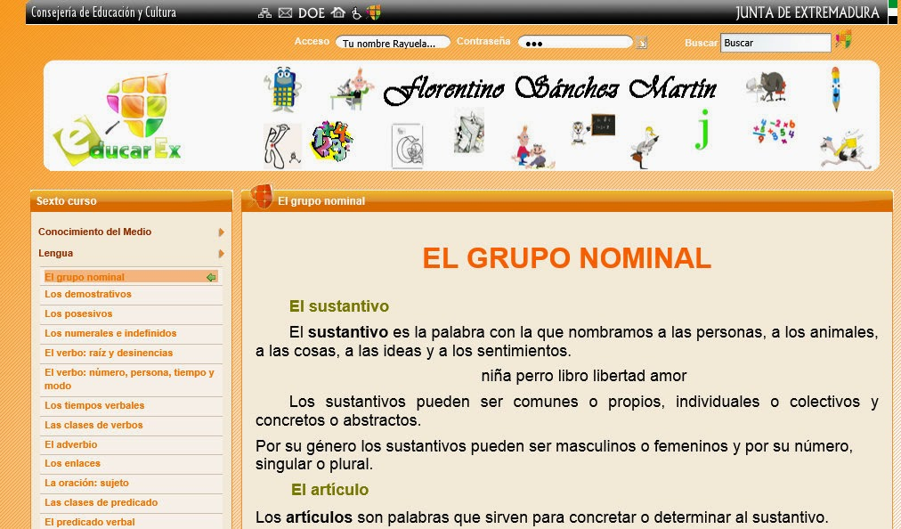 http://v2.educarex.es/web/fsanchezm02/el-grupo-nominal