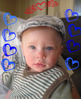 My gorgeous Grandson Lucas
