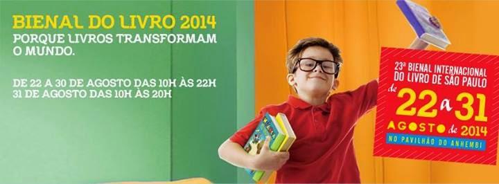 [Evento] 23ª Bienal Internacional do Livro de São Paulo