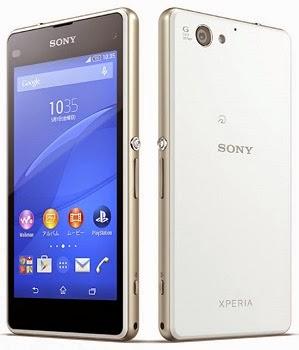 Harga Terbaru Sony Xperia J1 Compact dan Spesifikasi