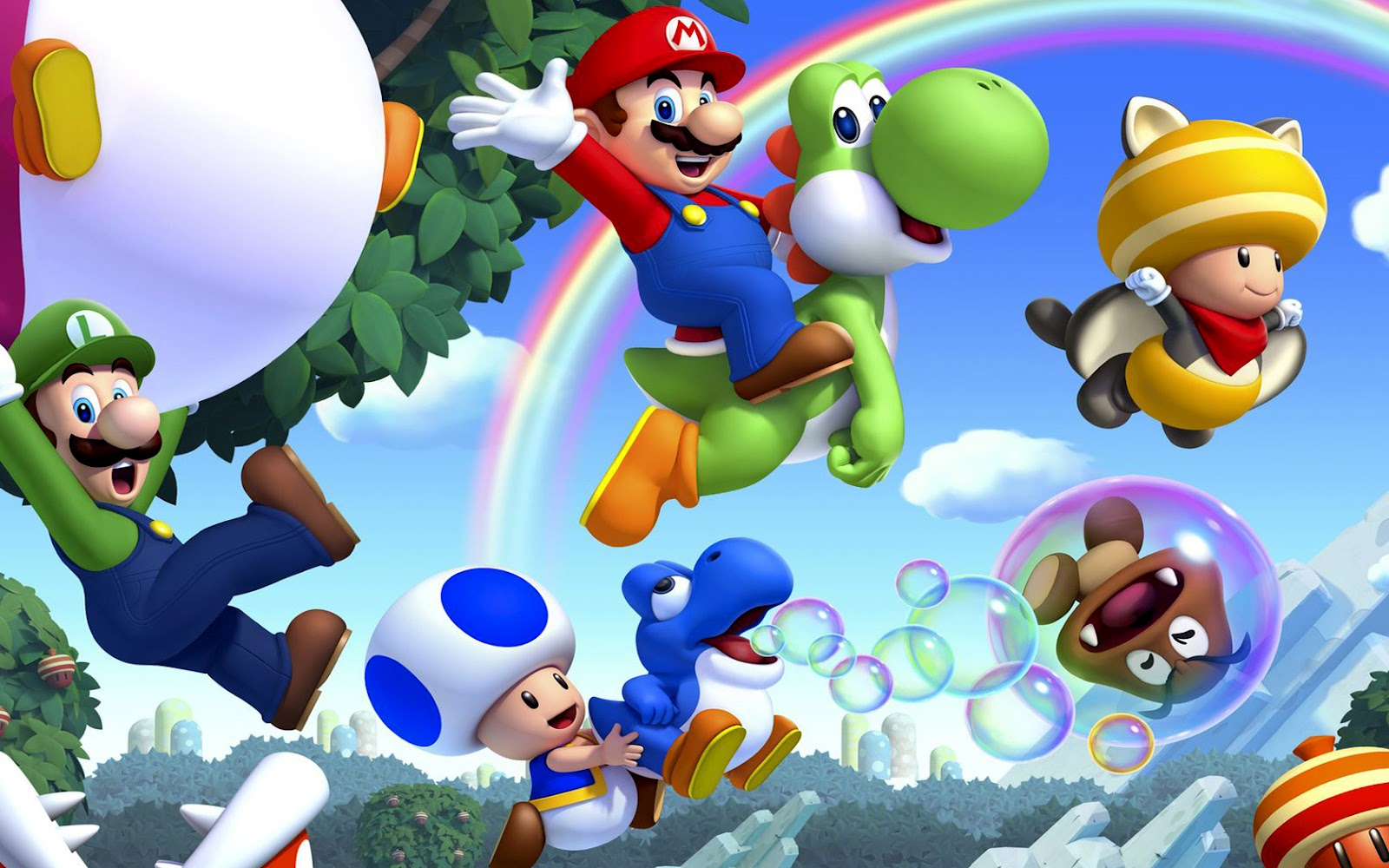 Super Mario HD & Widescreen Wallpaper 0.144757596417173