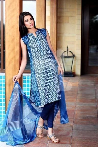 Nisha New Lawn Dresses 2015-2016
