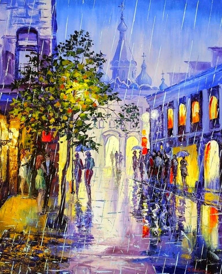 imagenes-de-pinturas-modernas-de-ciudades-al-oleo